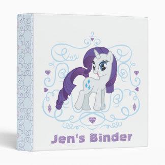 Diamonds and Swirls Vinyl Binder