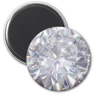 Diamonds are a Girls Best Friend Magnet