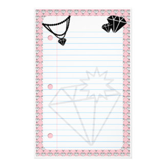 diamonds are forever stationery