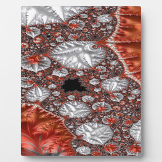 Diamonds in the Rough Fractal 3 Plaque