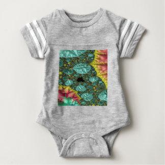 Diamonds in the Rough Fractal Baby Bodysuit