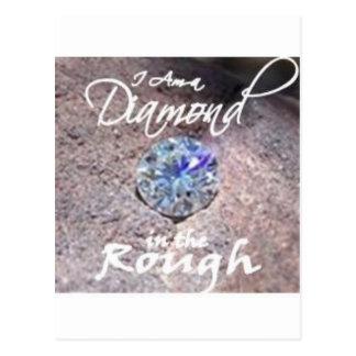 Diamonds in the Rough Postcard