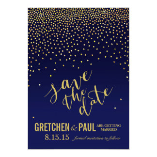 """Diamonds in the Sky Wedding Save the Date 