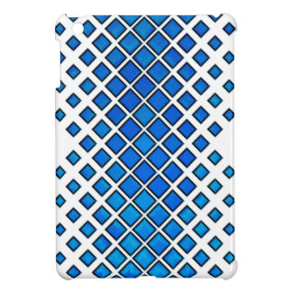 Diamonds Larger to Small Blue Cover For The iPad Mini