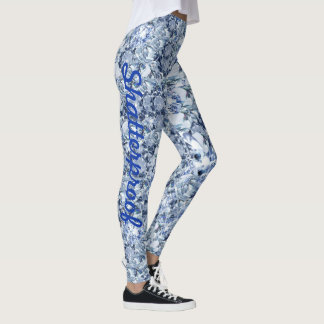 diamonds Leggings Running Pants Jogging Tights