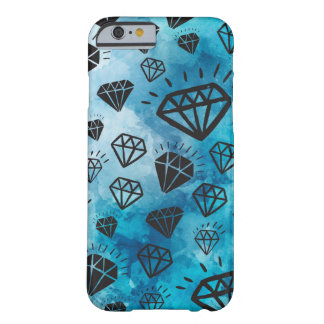 Diamonds light colorful blue sky marries shine barely there iPhone 6 case