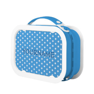 Diamonds on ANY color custom lunch boxes