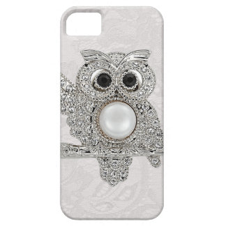 Diamonds Owl & Paisley Lace printed IMAGE iPhone 5 Covers