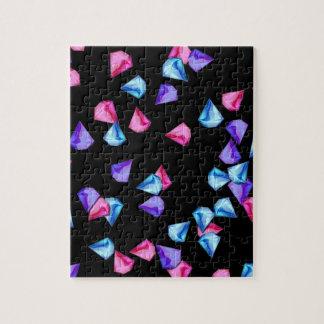 Diamonds pattern jigsaw puzzle