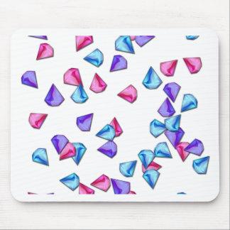 Diamonds pattern mouse pad