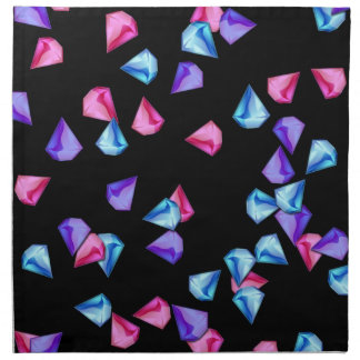 Diamonds pattern napkin
