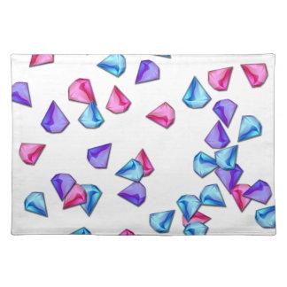 Diamonds pattern placemat