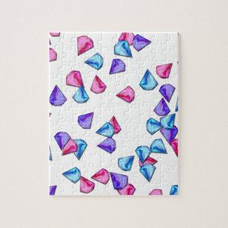 Diamonds pattern puzzles