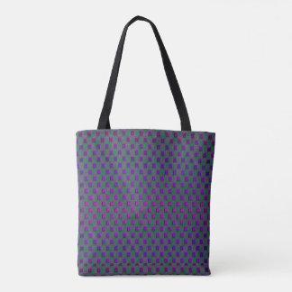 Diamonds Purple Tote Bag