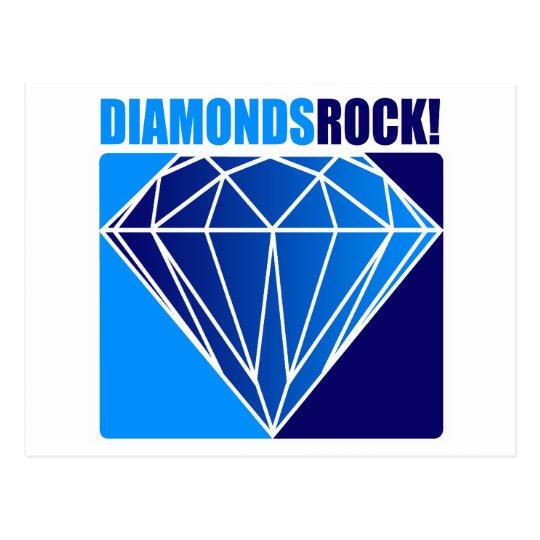 Diamonds Rock! Postcard