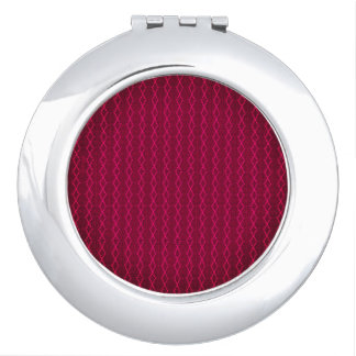 Diamonds-Ruby-Red_Stylish-Threads_Gift-ware_Favors Travel Mirror