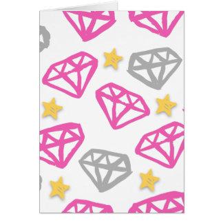 Diamonds & Stars Card
