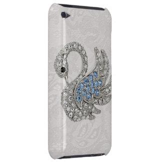 Diamonds Swan & Paisley Lace iPod Touch Case