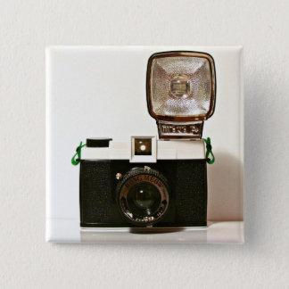 Diana 2 Inch Square Button