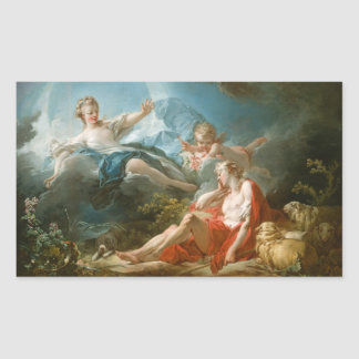 Diana and Endymion By Jean-Honoré Fragonard Sticker