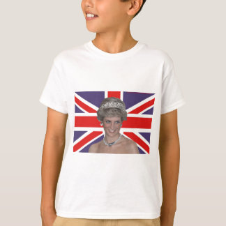 Diana flying the Flag T-Shirt