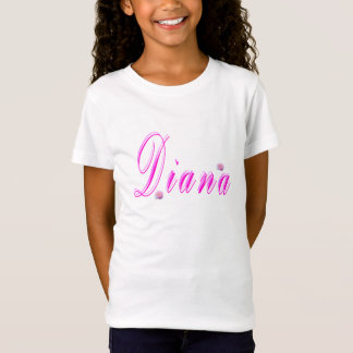 Diana Girls Name Logo, T-Shirt
