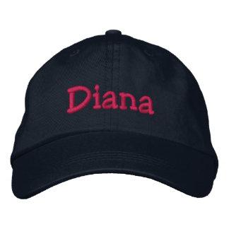 Diana Name Embroidered Baseball Cap