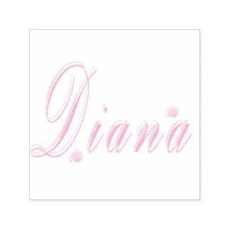 Diana Name Logo, Self-inking Stamp