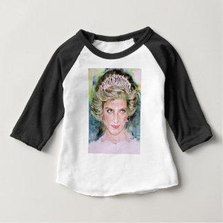 DIANA - PRINCESS OF WALES - watercolor portrait.3 Baby T-Shirt