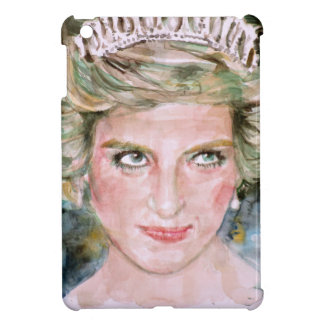 DIANA - PRINCESS OF WALES - watercolor portrait.3 Case For The iPad Mini