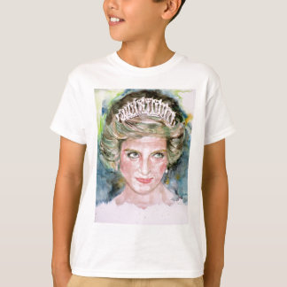 DIANA - PRINCESS OF WALES - watercolor portrait.3 T-Shirt