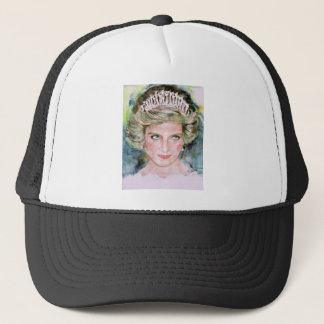 DIANA - PRINCESS OF WALES - watercolor portrait.3 Trucker Hat