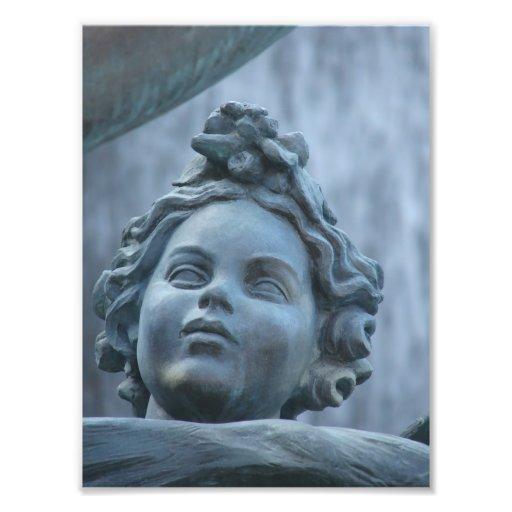 Dianna Fountain Detail Photograph