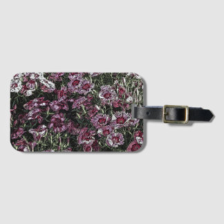 DIANTHUS LUGGAGE TAG