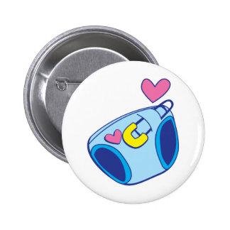 Diaper baby 2 inch round button