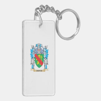 Diaper Coat of Arms - Family Crest Rectangular Acrylic Keychains