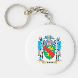 Diaper Coat of Arms - Family Crest Key Chains