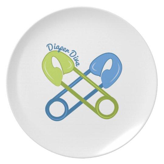 Diaper Diva Plate