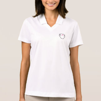 Diaper Emblem Polo for Baby Girls