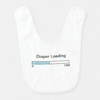 """Diaper Loading"" Baby Bib"
