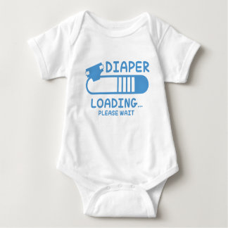 Diaper Loading Baby Bodysuit