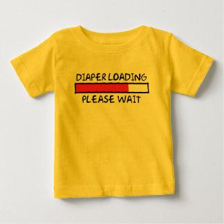 Diaper Loading Baby T-Shirt