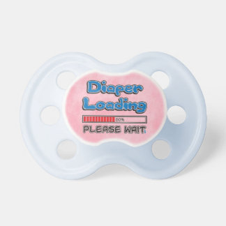 Diaper Loading  Pacifier