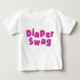 Diaper Swag (Pink) Baby T-Shirt