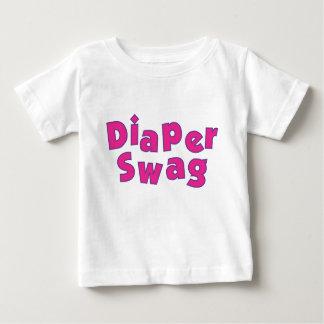 Diaper Swag (Pink) Tshirts