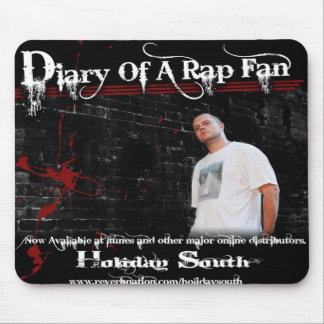 Diary of a Rap Fan Mousepad