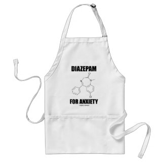 Diazepam For Anxiety (Light Chemical Molecule) Standard Apron