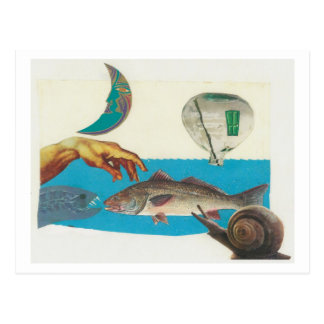 Dibble_Artworks_118_Red_Fish Postcards