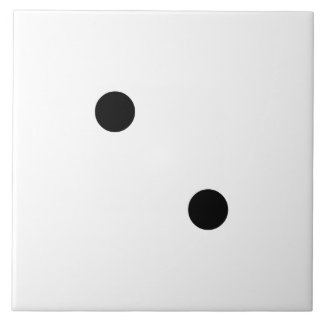 Dice 2 ceramic tile