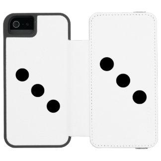 Dice 3 incipio watson™ iPhone 5 wallet case